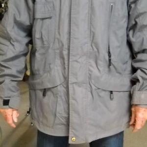 Men's Billabong Gray Ski Jacket Size XL